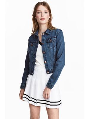 Куртка джинсова синя | 5666836