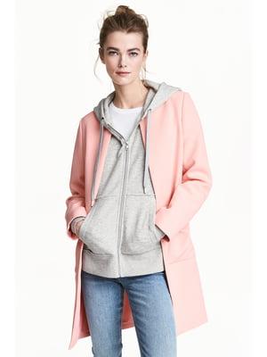 Півпальто рожеве | 5666870