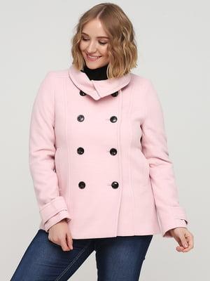 Півпальто рожеве | 5667021