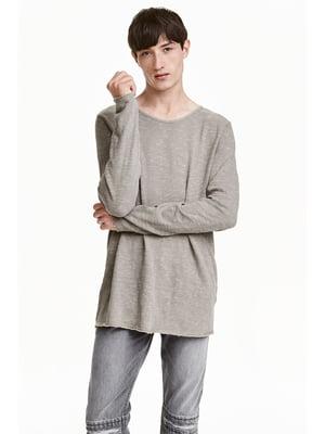 Джемпер серый | 5667089