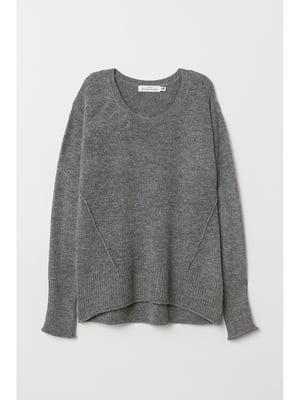 Пуловер темно-сірий | 5667154