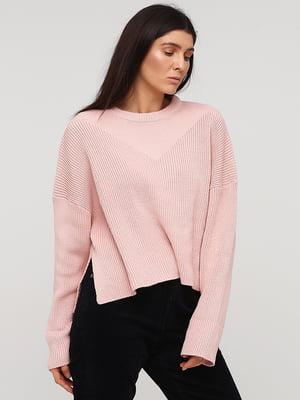 Джемпер розовый   5667329