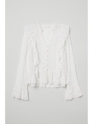Блуза белая | 5667384