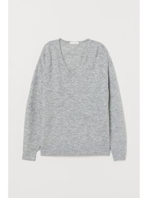 Пуловер світло-сірий | 5667403