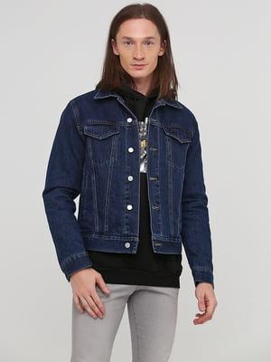 Куртка синя | 5667414