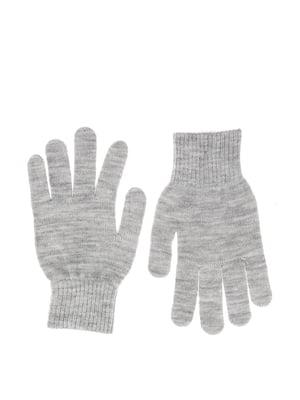 Перчатки серые | 5667495