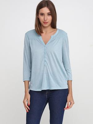 Пуловер голубой   5237554