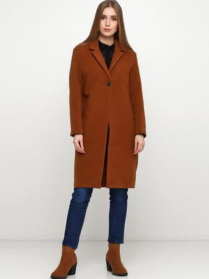 Пальто коричневое | 5667077