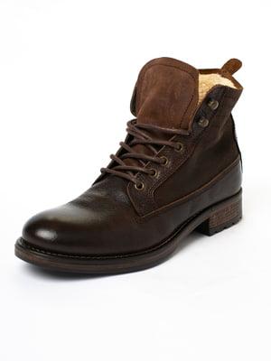 Ботинки коньячного цвета | 5663337