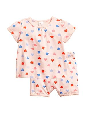 Пижама: футболка и шорты | 5668003