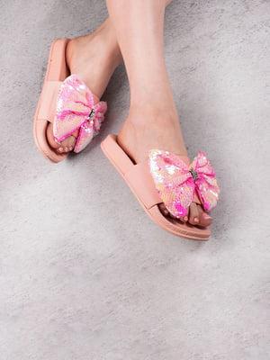 Шльопанці рожеві | 5675962