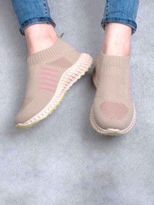 Кросівки бежеві | 5676034