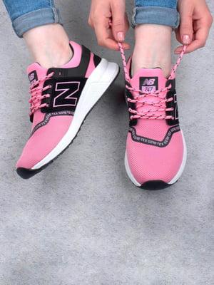 Кросівки двоколірні з принтом | 5643770