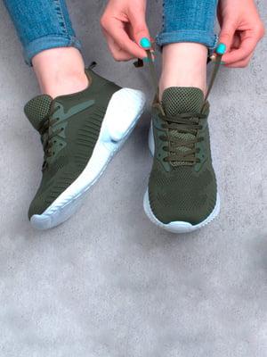 Кросівки кольору хакі | 5643888
