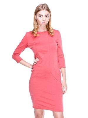 Платье терракотовое | 1800661