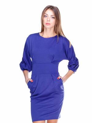 Сукня кольору електрик   1800719