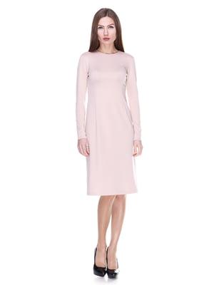 Сукня кольору пудри | 2006029