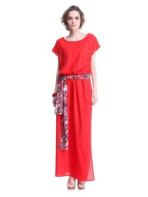 Платье красное | 2034809
