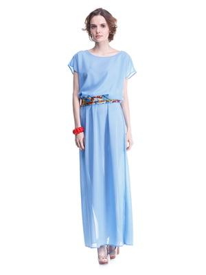 Платье голубое | 2034810