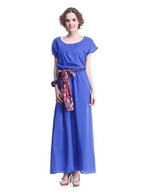 Платье цвета электрик | 2034812