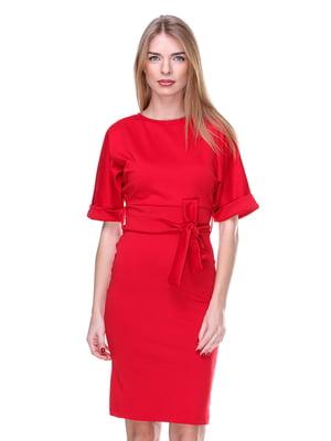 Платье красное | 2097525