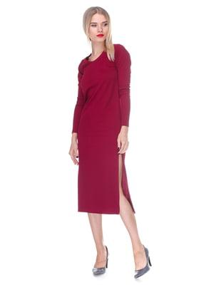 Сукня вишневого кольору | 2844213