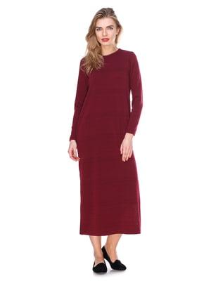 Сукня бордова | 2844375