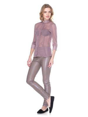 Блуза бузкового кольору | 3351211