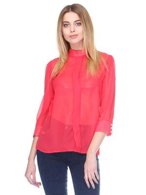 Блуза коралового кольору | 3351213