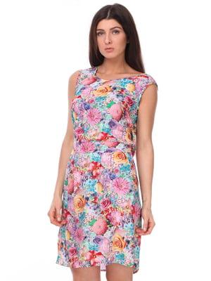 Сукня в квітковий принт   3351379