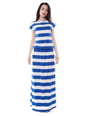 Платье двухцветное в полоску   3351412