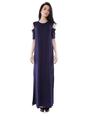 Платье синее | 3351458