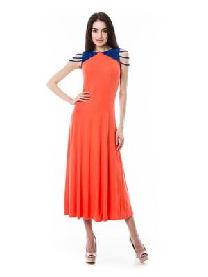 Платье оранжевое | 3351539
