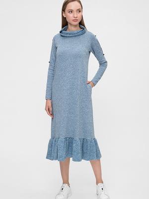 Платье голубое | 5676375