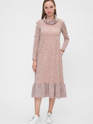 Сукня пудрового кольору | 5676376