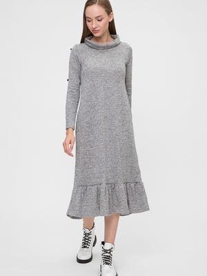 Платье серое   5676378