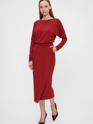 Сукня вишневого кольору | 5676381