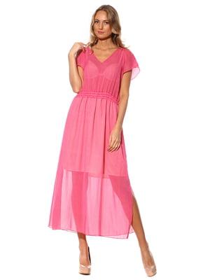 Платье розовое в горошек | 3351338