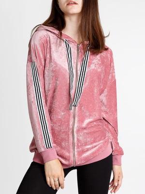 Кофта спортивна рожевого кольору | 5664827