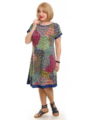 Платье в принт | 5676753