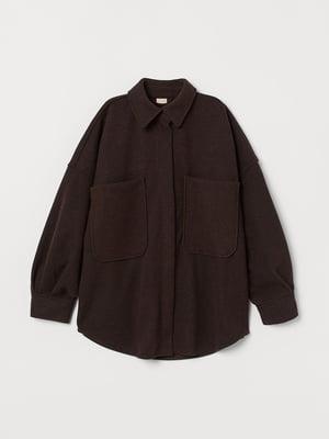 Жакет темно-коричневый | 5632773