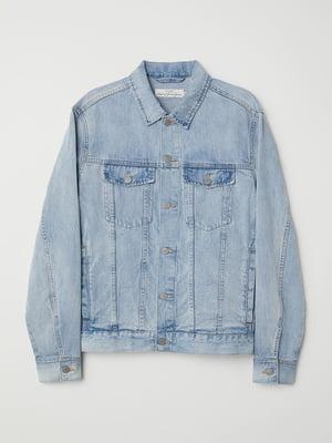 Куртка світло-блакитна джинсова   5677018