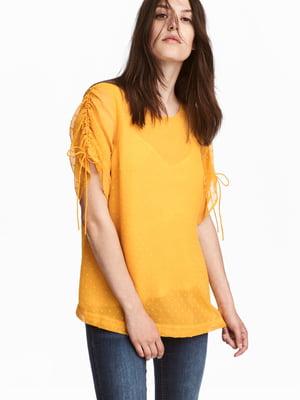 Блуза для вагітних жовта | 5677087