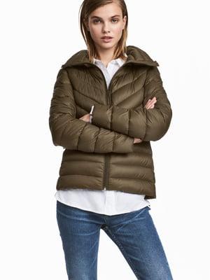 Куртка цвета хаки | 5677101