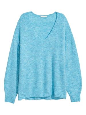 Пуловер голубой   5677181