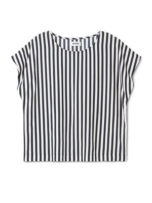 Блуза в полоску | 5677373