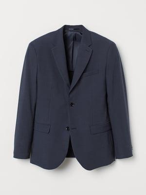 Піджак темно-синій | 5677649