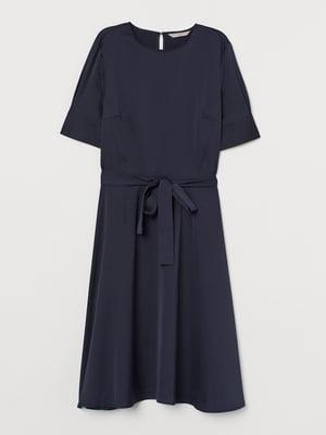 Платье темно-синее | 5677713