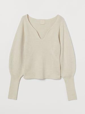 Пуловер світло-бежевий | 5677887