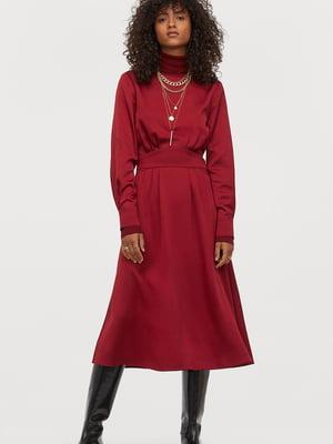 Платье бордовое | 5677891